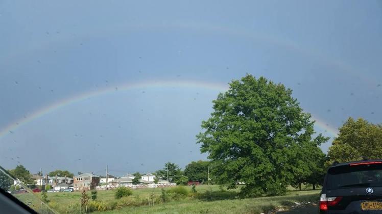 Uber double rainbow