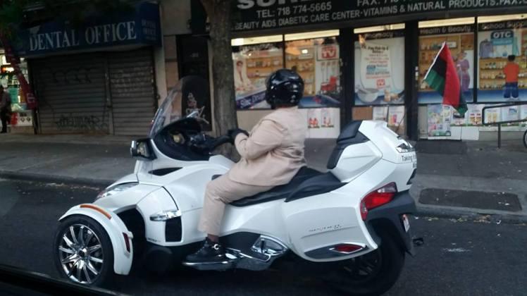 Uber motorbike badass