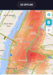 Uber Surge Manhattan